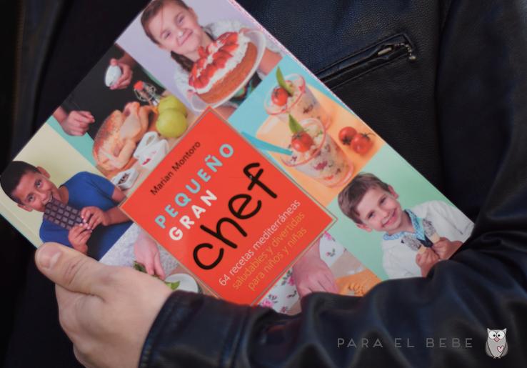 Pequeño Gran Chef, un libro de recetas para niños cocinillas
